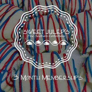 3 Month Memberships